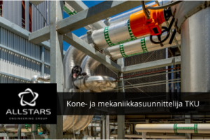 Kone-/mekaniikkasuunnittelija, Turku