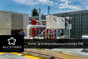Kone-/mekaniikkasuunnittelija, Tampere