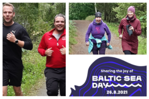 Allstars joined the Baltic Sea Day on August 26.