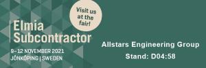 Allstars Engineering at Elmia Subcontractor fair
